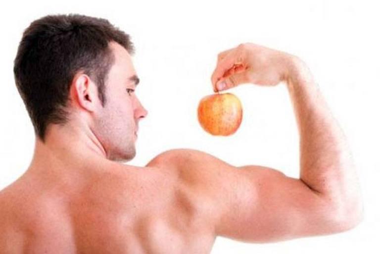 Сперма на фруктах
